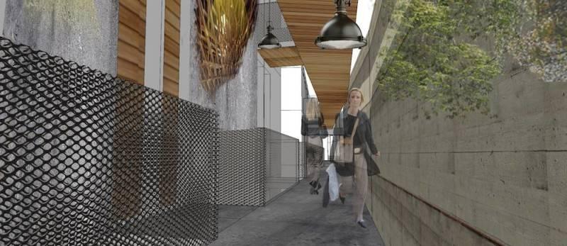 Foto inspirasi ide desain koridor dan lorong tropis Photo-6237 oleh Monokroma Architect di Arsitag