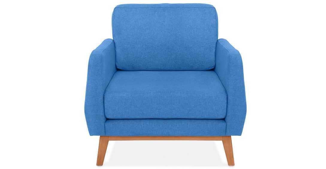 armchairs wina armchair blue jay vienna fabelio oleh pt tiga elora nusantara