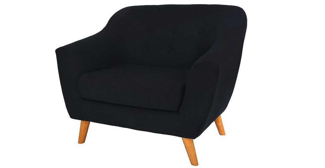 armchairs jobi armchair black vienna fabelio oleh pt tiga elora nusantara