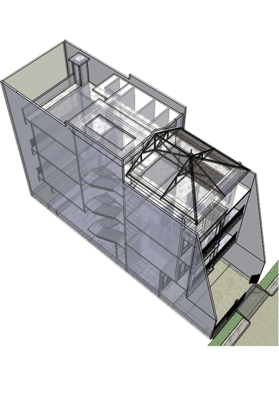 Irfanwidi Architects Rumah Camar Indah Jl. Camar Indah 6, Kapuk Muara, Penjaringan, Kota Jkt Utara, Daerah Khusus Ibukota Jakarta 14460, Indonesia  Section-41496679606-M  33684