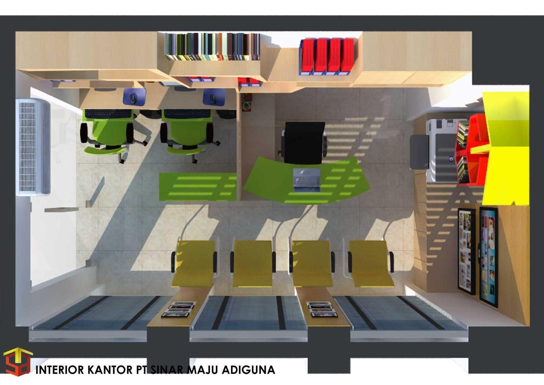 Irfanwidi Architects Kantor Pt Sinar Maju Adiguna Jl. Otista Raya, Gerendeng, Karawaci, Kota Tangerang, Banten 15113, Indonesia Kota Tgr. Sel., Kota Tangerang Selatan, Banten, Indonesia Interior-Sma-7  33300