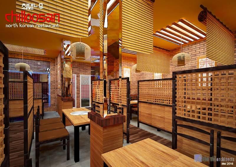 Irfanwidi Architects Chilbosan North Korean Restaurant At Kelapa Gading Kelapa Gading. Jakarta Utara Kelapa Gading. Jakarta Utara Revisichilbosan-Lt12 Tradisional 6666