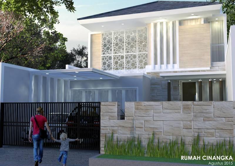 Irfanwidi Architects Rumah Cinangka Jakarta Selatan Jakarta Selatan Cinangkastainlesslasercutsky2  5232