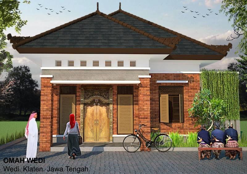 Foto inspirasi ide desain rumah asian Omah-wedi oleh irfanwidi architects di Arsitag