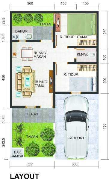 Irfanwidi Architects Perumahan Sinar Mutiara Asri Cileles. Bantarpanjang. Tigaraksa. Banten Cileles. Bantarpanjang. Tigaraksa. Banten Layout-Rumah-30X601472518386-M Minimalis 31660