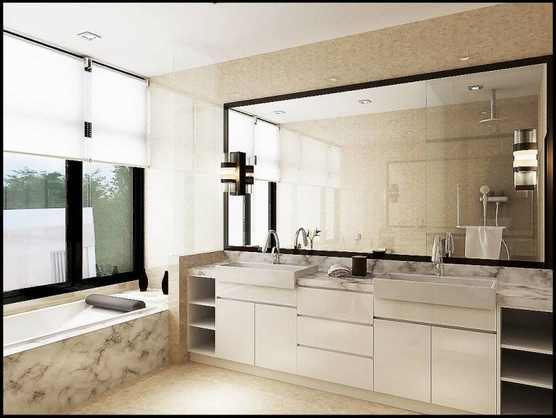 Emilia Oei White Box Residence Medan, Indonesia Medan, Indonesia Bathroom  5738