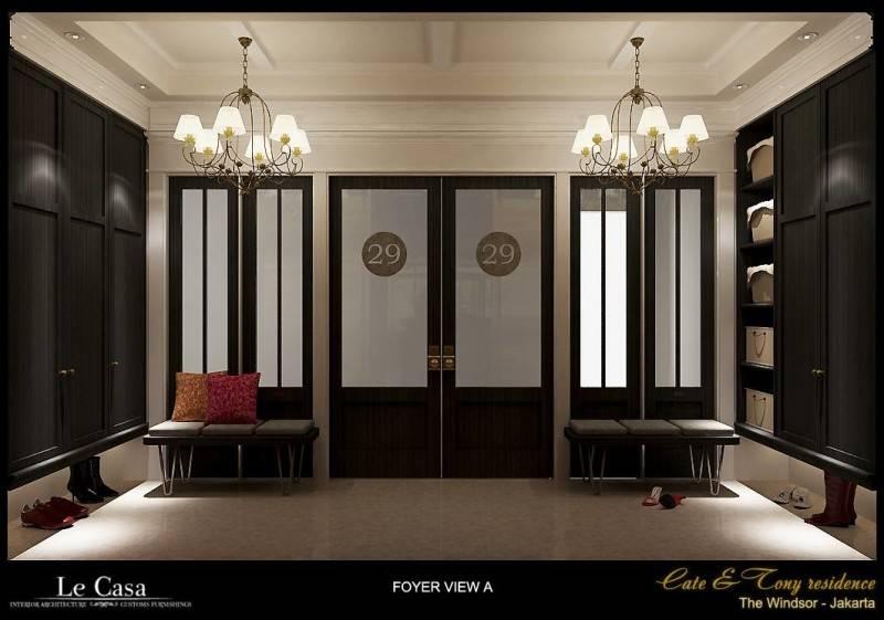 Emilia Oei Penthouse Residence In Jakarta Jakarta Jakarta Foyer View  5834
