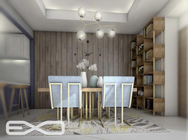 E.d.n.a.m.u Hi-End Apartment Interior At Gandaria South Gandaria, Cilandak, South Jakarta City, Jakarta, Indonesia Gandaria, Jakarta Selatan Dining Area  15887