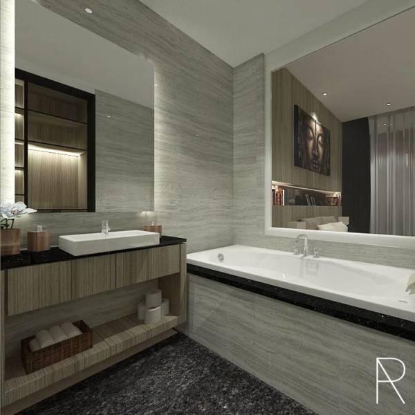Ra Interior Architecture Deva Mahenra House Kebagusan, Jakarta Selatan Kebagusan, Jakarta Selatan Bathroom  5424