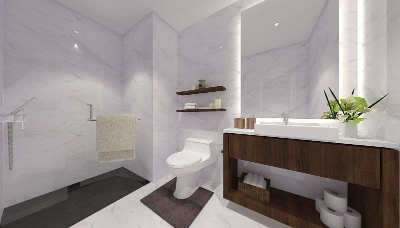 Ra Interior Architecture City Compact Pulogadung, Jakarta Utara Pulogadung, Jakarta Utara Masterbathroom180316  5434