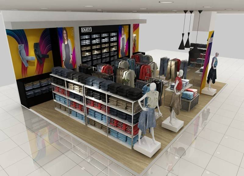 Ra Interior Architecture Dust (Shop In Shop) Matahari Department Store Matahari Department Store View-A Minimalis 5437