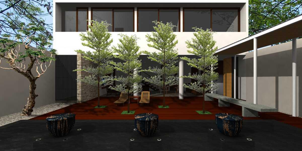 Herryj Architects Pilar House Kedoya Kedoya Blok-B2-Siang Tropis 23974