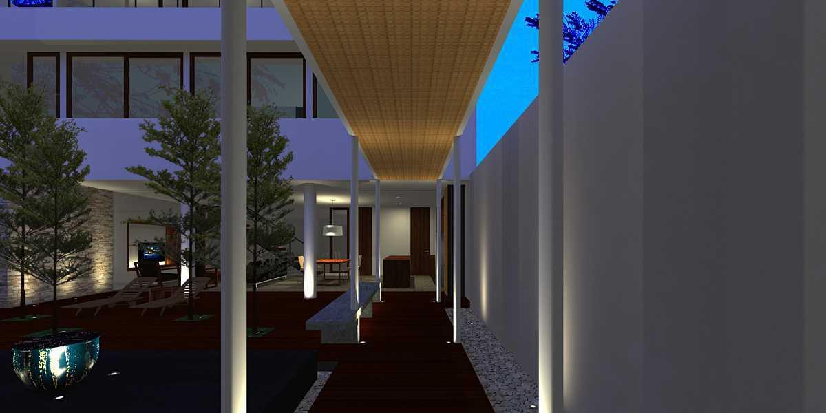 Herryj Architects Pilar House Kedoya Kedoya Blok-B1 Tropis 23975