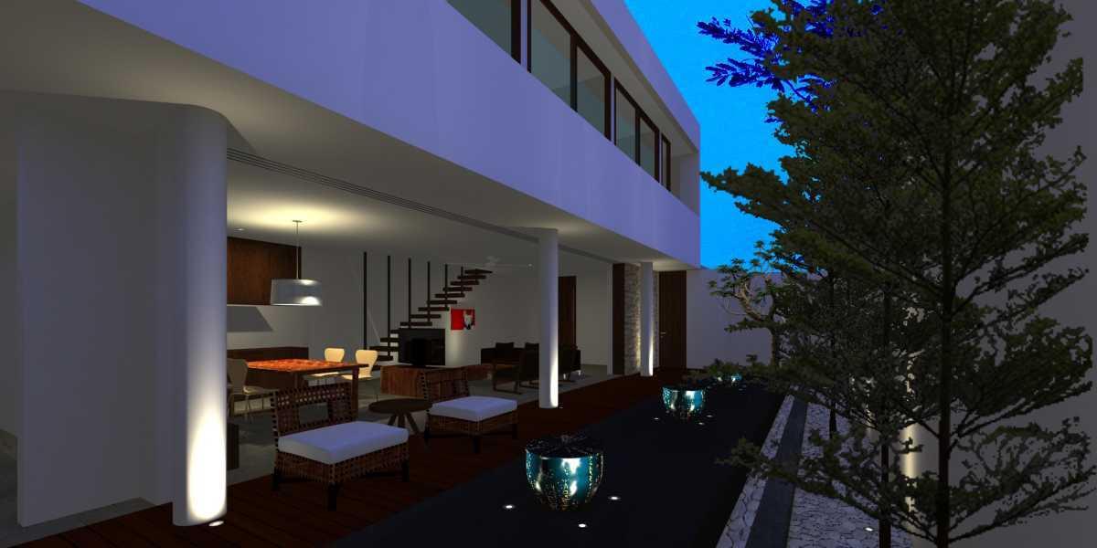 Herryj Architects Pilar House Kedoya Kedoya Blok-A3 Tropis 23976