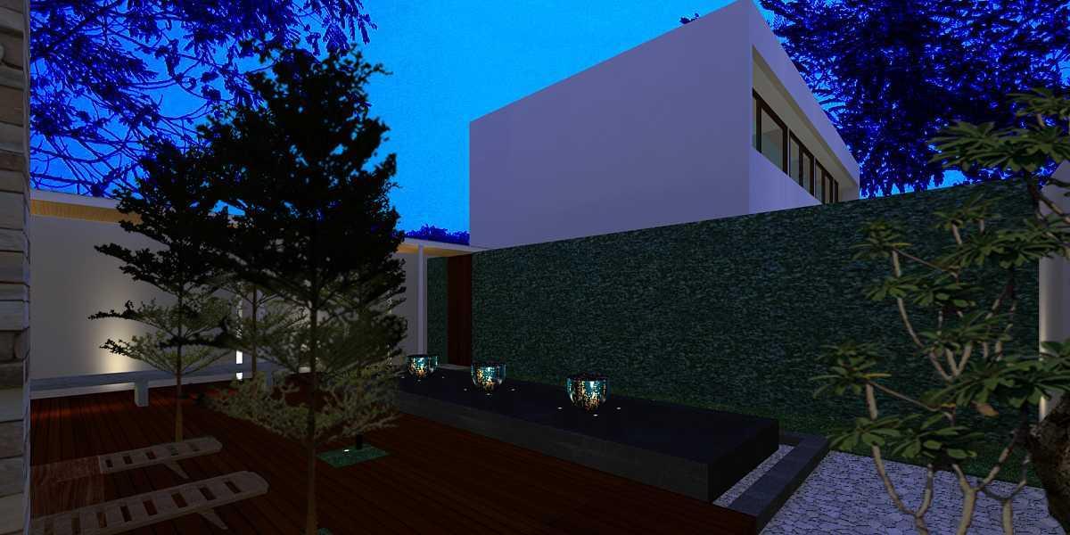 Herryj Architects Pilar House Kedoya Kedoya Blok-B4 Tropis 23977