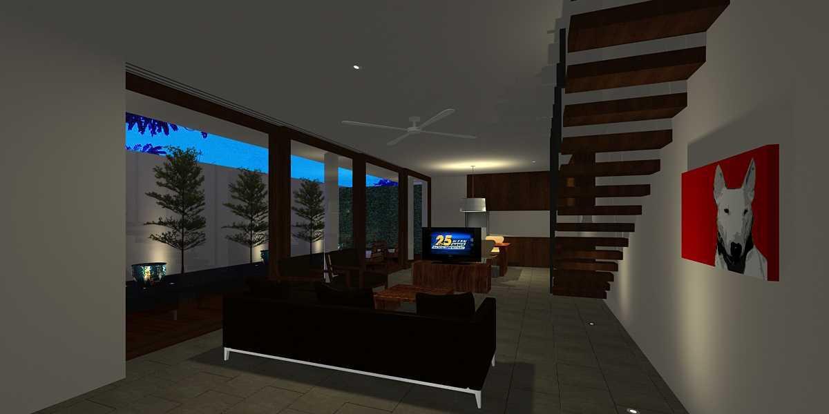 Herryj Architects Pilar House Kedoya Kedoya Blok-A1 Tropis 23979