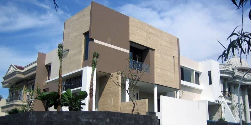 Herryj Architects Marble House  Jakarta, Indonesia Jakarta, Indonesia Side-View  5444