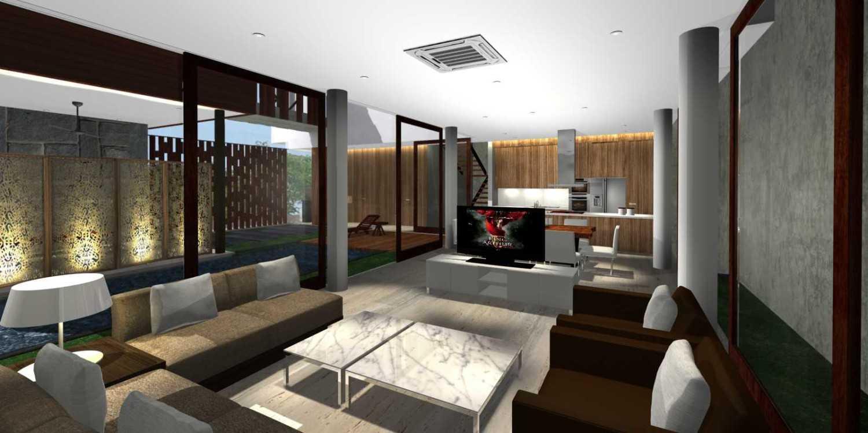 Herryj Architects Bridge House Jakarta, Indonesia Jakarta, Indonesia Living Minimalis 23902