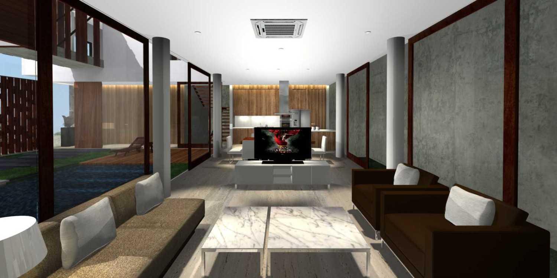 Herryj Architects Bridge House Jakarta, Indonesia Jakarta, Indonesia Living2 Minimalis 23903