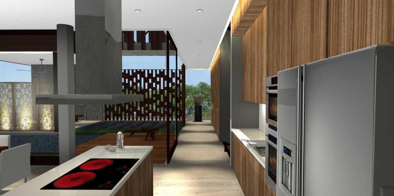 Herryj Architects Bridge House Jakarta, Indonesia Jakarta, Indonesia Pantry Minimalis 23904