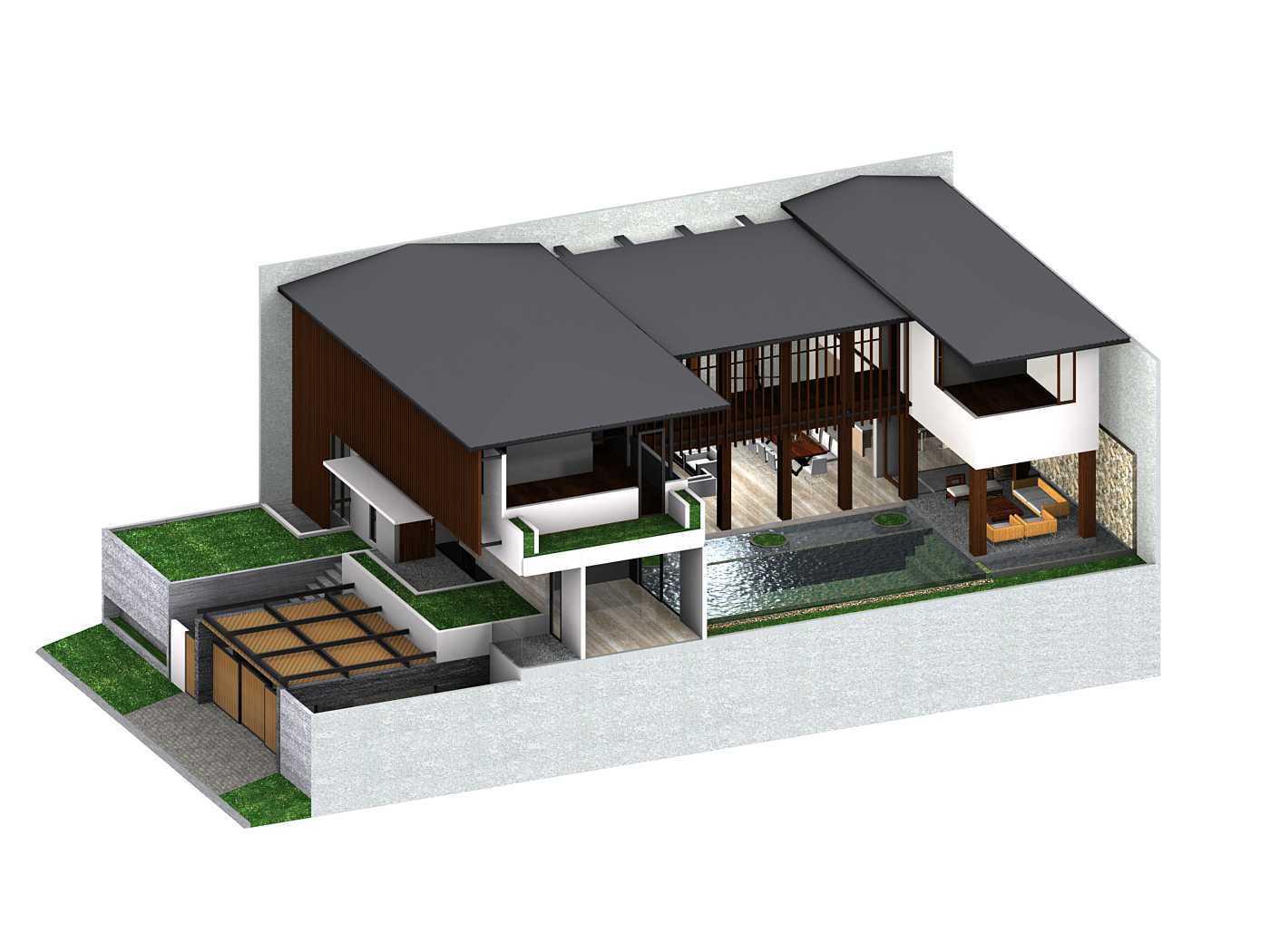 Herryj Architects Katamaran House Jakarta, Indonesia Jakarta, Indonesia Axono Tropis 23862