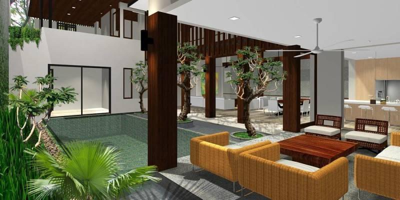 Herryj Architects Katamaran House Jakarta, Indonesia Jakarta, Indonesia Back-Pavilion Tropis 5495