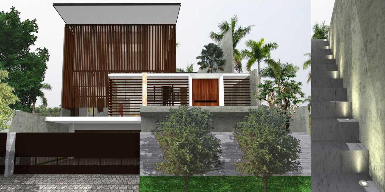 Herryj Architects Water House Jakarta, Indonesia Jakarta, Indonesia Untitled-1 Minimalis 23909