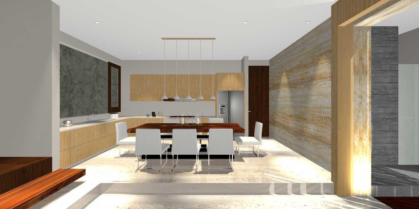Herryj Architects Water House Jakarta, Indonesia Jakarta, Indonesia Dining Minimalis 23917