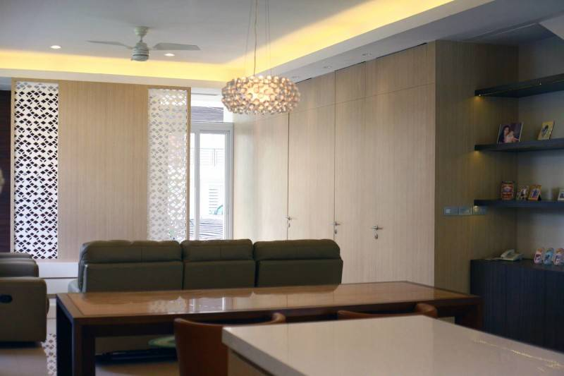 Herryj Architects Small House Tangerang Selatan Tangerang Selatan Living Room Tropis 5588