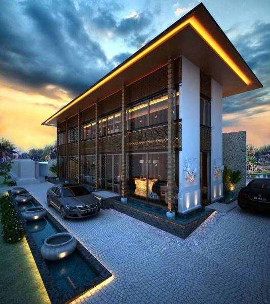 Nelson Liaw Villa Hc Bali, Indonesia Bali, Indonesia Side-View  5551