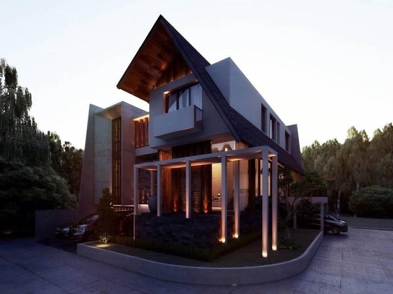 Nelson Liaw Jn House Jakarta, Indonesia Jakarta, Indonesia Corner-View Kontemporer 5593