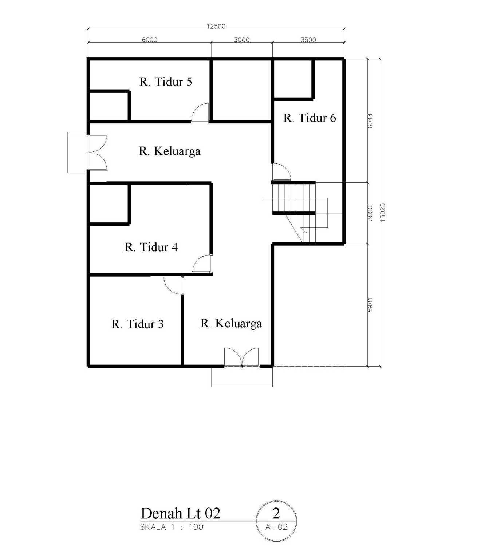 Rahman Efendi Private House 4 Bekasi, Tambelang, Bekasi, Jawa Barat, Indonesia Bekasi, Tambelang, Bekasi, Jawa Barat, Indonesia Denah-Lt-022 Modern 31657