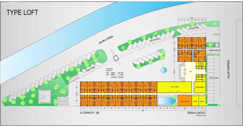 Rahman Efendi Apartemen Type Loft Bekasi Tim., Kota Bks, Jawa Barat, Indonesia Bekasi Tim., Kota Bks, Jawa Barat, Indonesia Floorplan Classic 49670
