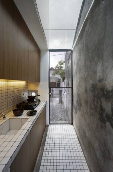 Sontang M Siregar Compact House  Jakarta, Indonesia Jakarta, Indonesia Kitchen Room  6058