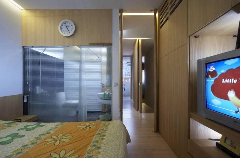 Sontang M Siregar 51 Sqm House Jakarta, Indonesia Jakarta, Indonesia Folded-Bed-3 Minimalis 6091
