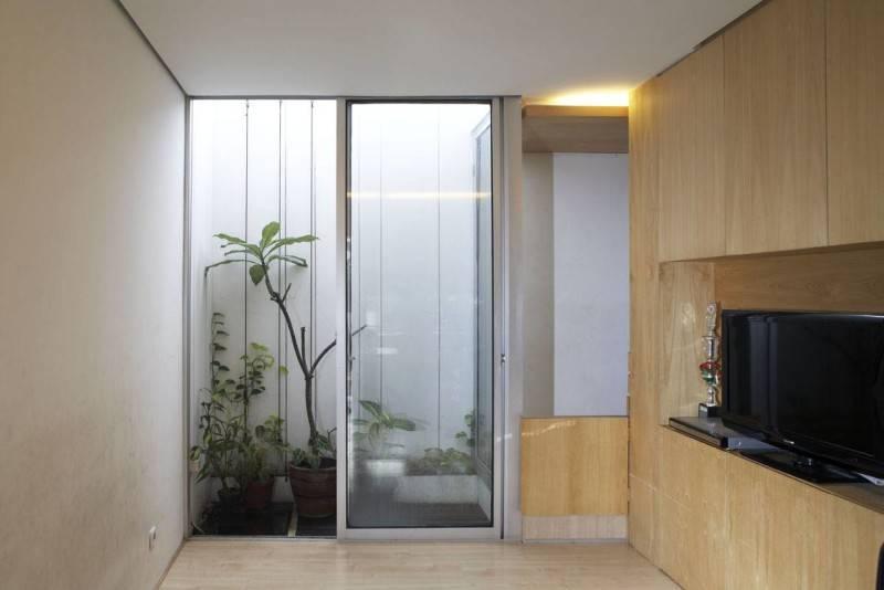 Sontang M Siregar 51 Sqm House Jakarta, Indonesia Jakarta, Indonesia Indoor-Garden-3 Minimalis 6097