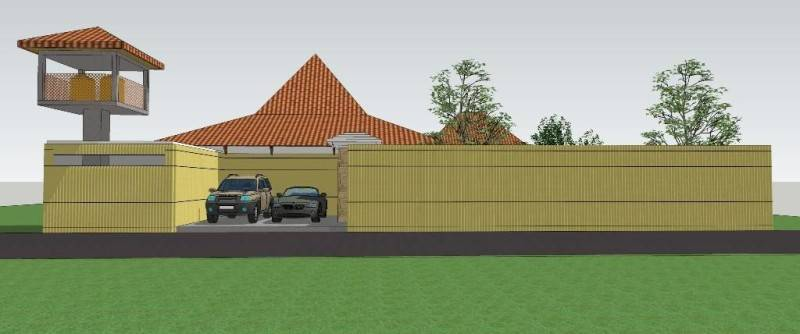 Foto inspirasi ide desain garasi tradisional Perspective-1 oleh CivArch Design Studio di Arsitag
