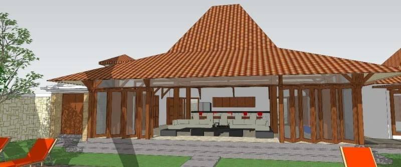 Civarch Design Studio Villa Semar At Canggu Bali, Indonesia Bali, Indonesia Perspective-3 Tradisional 5615