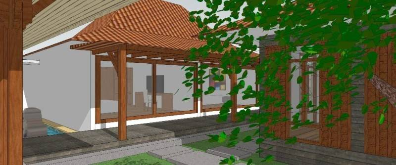 Civarch Design Studio Villa Semar At Canggu Bali, Indonesia Bali, Indonesia Perspective-4 Tradisional 5616