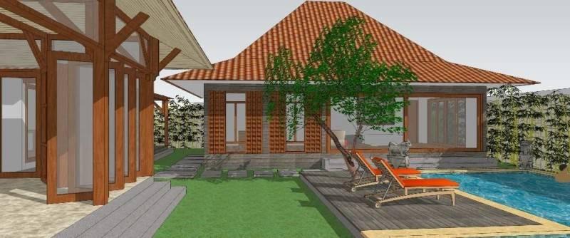 Civarch Design Studio Villa Semar At Canggu Bali, Indonesia Bali, Indonesia Perspective-5 Tradisional 5617