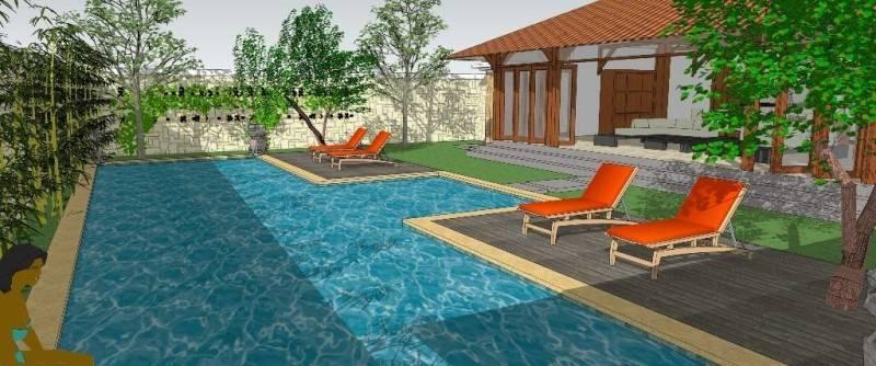 Civarch Design Studio Villa Semar At Canggu Bali, Indonesia Bali, Indonesia Perspective-6 Tradisional 5618
