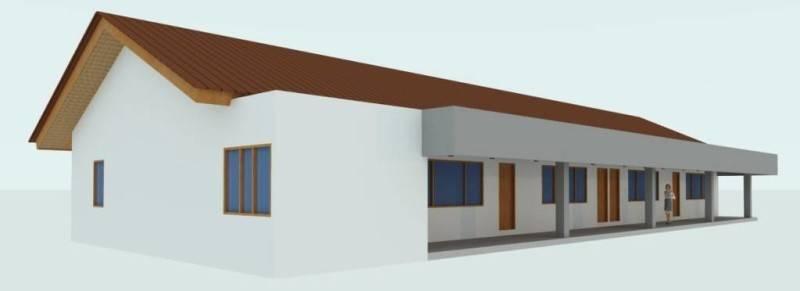 Civarch Design Studio Elementary School At Dili Timor Leste Timor Leste School-Perspective-6  5638