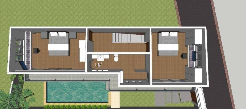 Civarch Design Studio Ramini House At Canggu Bali, Indonesia Bali, Indonesia Upper-Floor Kontemporer 5652