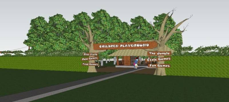 Civarch Design Studio Children Playground At Denpasar Bali, Indonesia Bali, Indonesia Entrance Tropis 5707