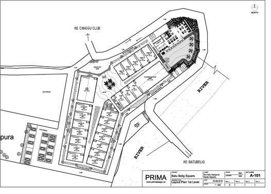 Prima Design Batu Belig Square At Kuta Bali, Indonesia Bali, Indonesia First-Floor-Level  5745