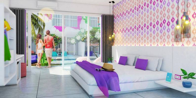 Prima Design Hello Sunday Villa And Suites Bali, Indonesia Bali, Indonesia Bed-Room-2  5757