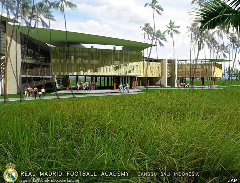 Julio Julianto Real Madrid Football Academy At Canggu Bali, Indonesia Bali, Indonesia Administration-Building-2 Modern 5852