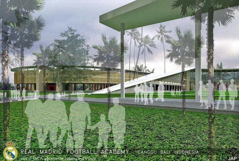 Julio Julianto Real Madrid Football Academy At Canggu Bali, Indonesia Bali, Indonesia Administration-Building-And-Tribune Modern 5853