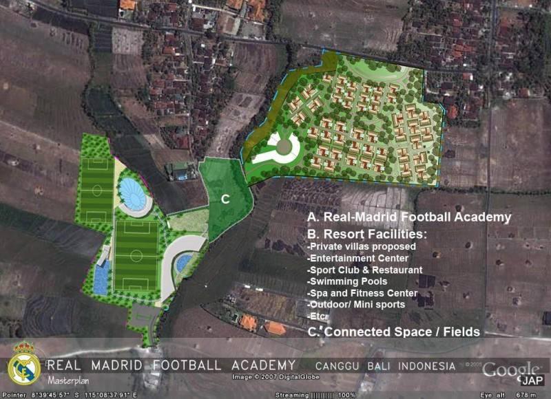Julio Julianto Real Madrid Football Academy At Canggu Bali, Indonesia Bali, Indonesia Masterplan Modern 5856