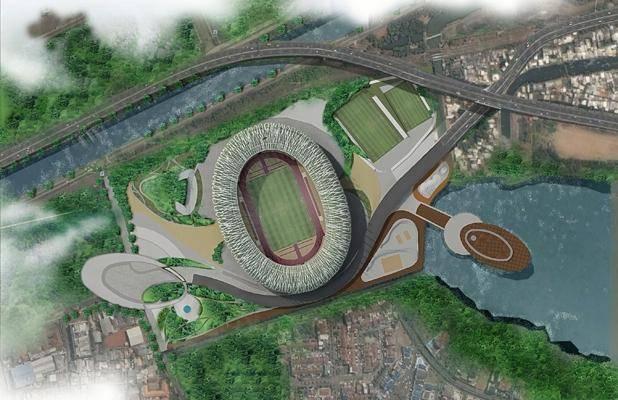 Julio Julianto Football Stadium At Bmw Garden Jakarta, Indonesia Jakarta, Indonesia Bird-Eye-View-2 Kontemporer 5863